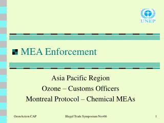 MEA Enforcement