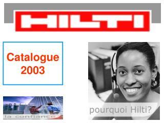 Catalogue 2003