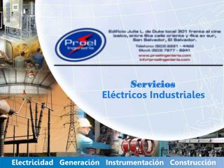 Electricidad   Generación   Instrumentación   Construcción