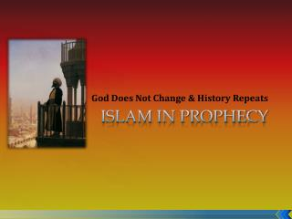 Islam in Prophecy