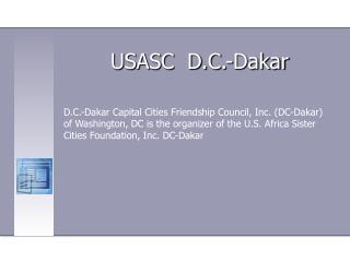 USASC  D.C.-Dakar