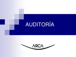 AUDITOR�A
