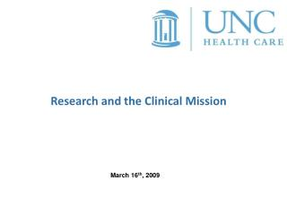 Research and the Clinical Mission
