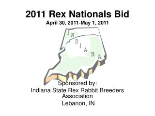2011 Rex Nationals Bid April 30, 2011-May 1, 2011