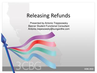 Releasing Refunds