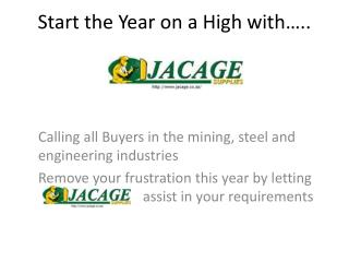 Start the Year on a High with…..
