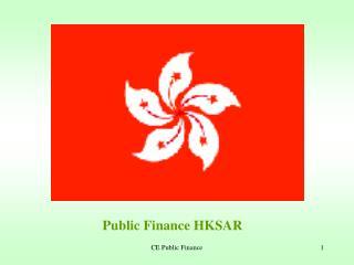 CE Public Finance