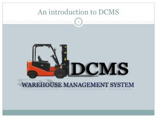 An introduction to DCMS