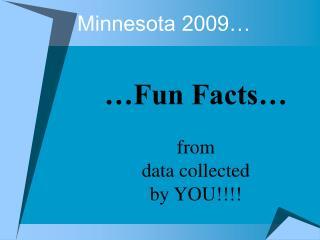 Minnesota 2009…