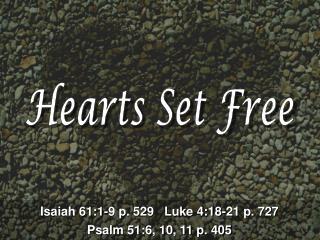 Hearts Set Free