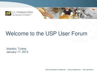 Welcome to the USP User Forum