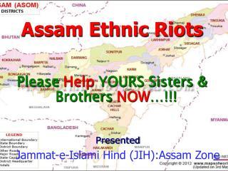 Assam Ethnic Riots