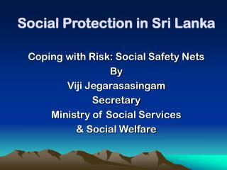 Social Protection in Sri Lanka