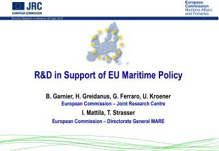 R&D in Support of EU Maritime Policy