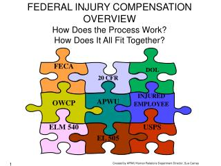 FEDERAL INJURY COMPENSATION OVERVIEW How Does the Process Work? How Does It All Fit Together?