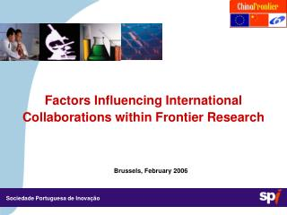 Factors Influencing International Collaborations within Frontier Research