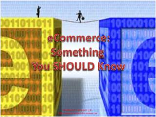 eCommerce : Something  You SHOULD Know