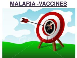 MALARIA -VACCINES