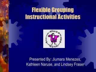 Flexible Grouping Instructional Activities