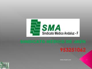 SINDICATO MÉDICO DE JAÉN 953251062
