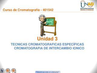Curso de Cromatografía - 401542