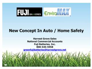 New Concept In Auto / Home Safety