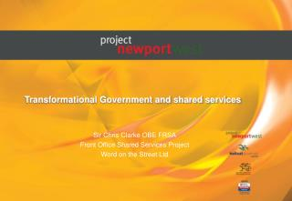 Transformational Government and shared services