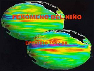 FE NÓMENO DEL NIÑO