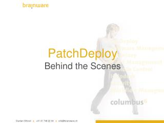 PatchDeploy Behind the Scenes