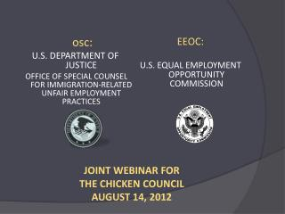 osc : U.S. DEPARTMENT OF JUSTICE