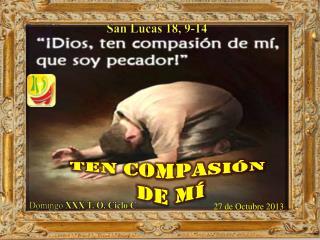 San Lucas 18, 9-14