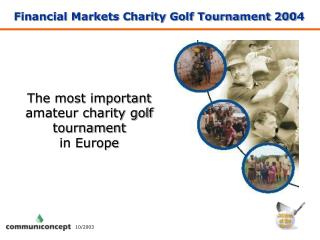 Financial Markets Charity Golf Tournament 200 4