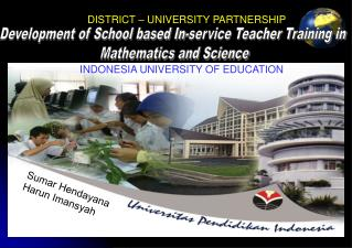 Development of School based In-service Teacher Training in  Mathematics and Science