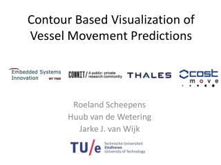 Contour Based Visualization of Vessel  Movement  Predictions