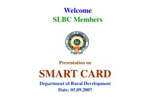 Welcome  SLBC Members
