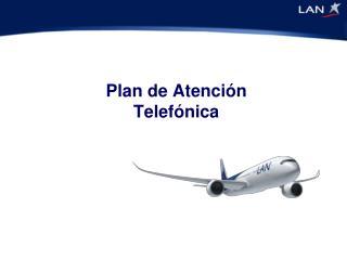 Plan de Atención Telefónica