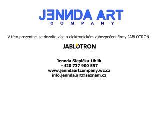 V této prezentaci se dozvíte více o elektronickém zabezpečení firmy JABLOTRON