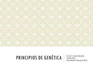 Principios de G en é tica