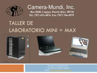 Taller de  Laboratorio Mini + Max
