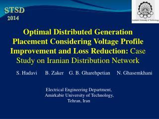 Electrical Engineering Department, Amirkabir  University of Technology,  Tehran, Iran