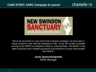 CASE STUDY: SARC Campaign & Launch