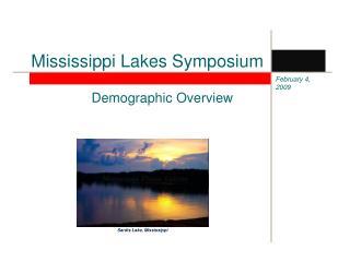Mississippi Lakes Symposium