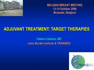 ADJUVANT TREATMENT: TARGET THERAPIES