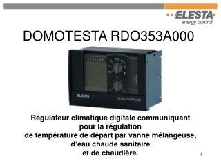 DOMOTESTA RDO353A000
