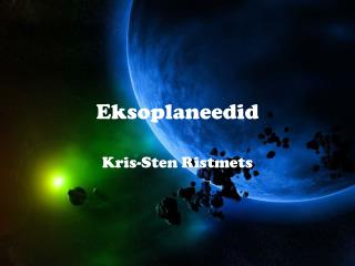 Eksoplaneedid