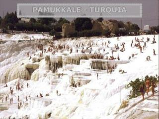 PAMUKKALE - TURQUIA