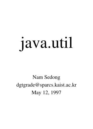 Java.util