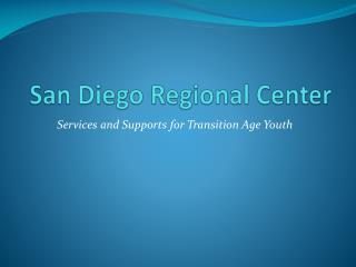 San Diego Regional Center