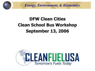 Energy, Environment, & Economics