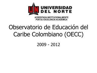 Observatorio de Educación del Caribe Colombiano (OECC)